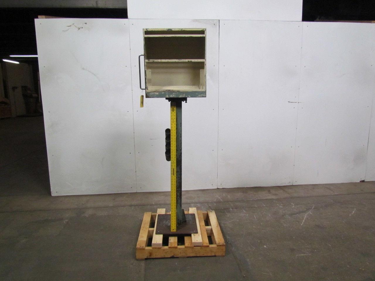 """Pedestal Mounted Electrical Control Box W/ Swivel 21""""Wx22-1/2""""Tx10-1/2"""" D Box"""