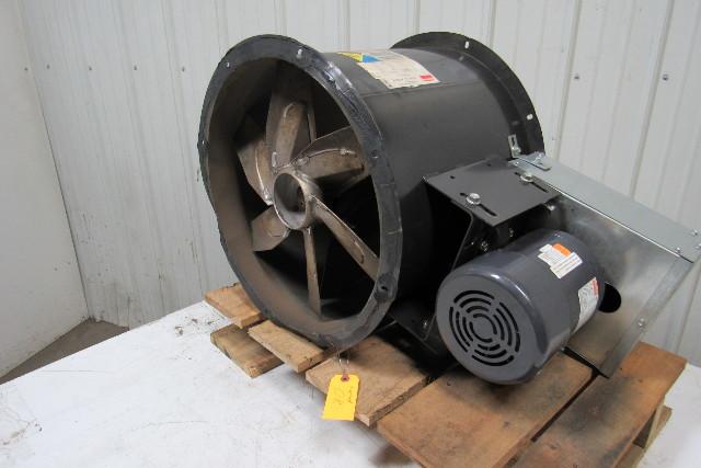 Dayton 4c661b 18 U0026quot  Tubeaxial Exhaust Fan W  3  4hp 3ph