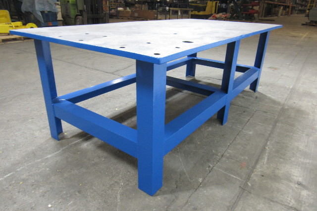 48x96x32 Quot Tall Steel Welding Layout Work Table Bench 1