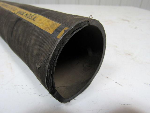 Bellowsflex 16791023760 2 38 Id Multipurpose Black Hose 2 Ply