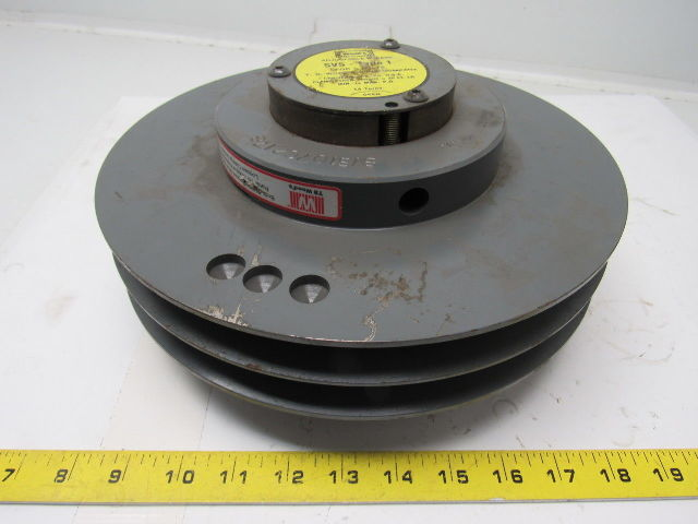 Tb Woods Svs Type 1 Adjustable Sheave For C Belts Clamp