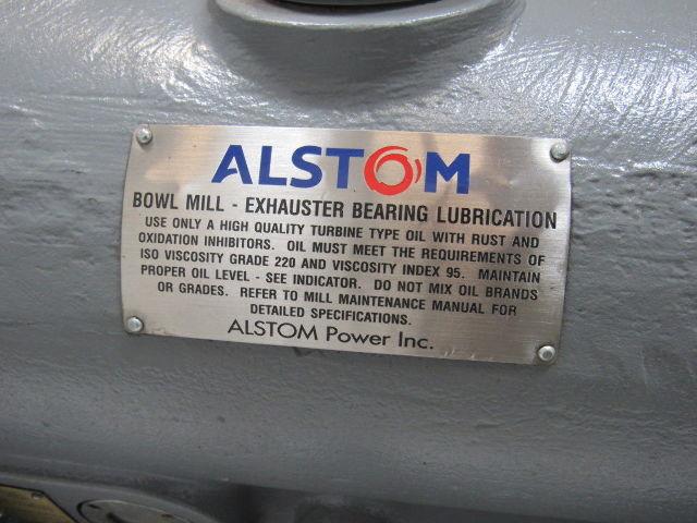 Alstom Bowl Mill Exhaust Fan Bearing Assembly Rebuilt