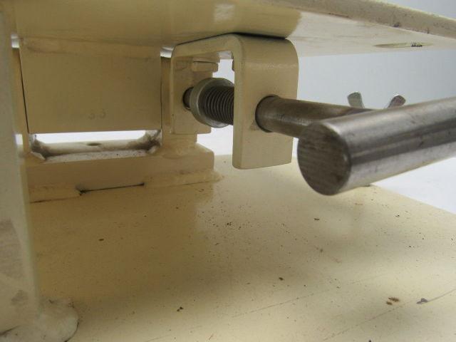 Steel Electric Motor Mount Base Swivel 90 176 W Locking Pin