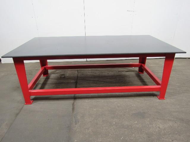 Superb Steel Welding Work Bench 96 X 48 1 2 X 3 4 Thick Top Beatyapartments Chair Design Images Beatyapartmentscom