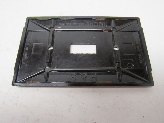 Pass  U0026 Seymour Vintage Brown Rib Single Gang Switch Plate