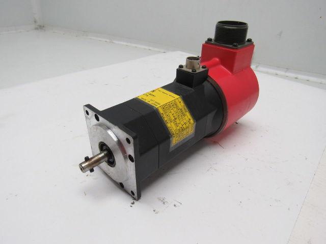Fanuc A06B-0533-B251 AC Servo Motor 3PH 6 Poles 3000RPM 112V Pulse coder