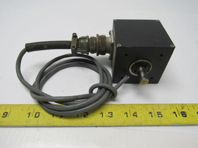 Details about Accu-coder 711-S Incremental Shaft Encoder 120 CPR 5/28 VDC  3/8
