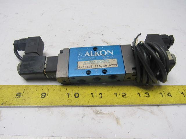 ALKON  21874-06 Plug ALKON SOLENOID VALVE P-035SS 115//60