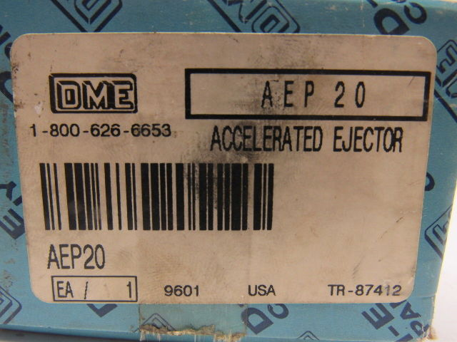 Details about DME AEP-20 Accelerated Mold Ejector Pin Type-Regular
