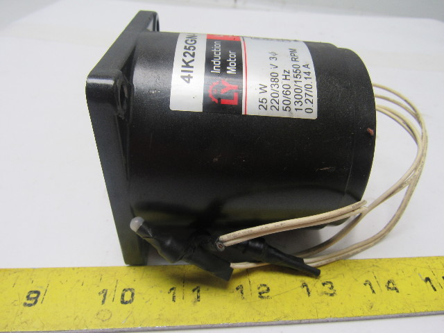 50//60Hz Luyang 4IK25GN-S Induction Motor Three Phase 220V 25W