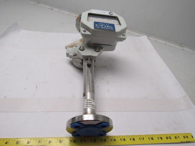 Details About Wallace Tiernan 5220M22016UBD402SXX Nitrogen N2 Flow Meter W Flow Switch