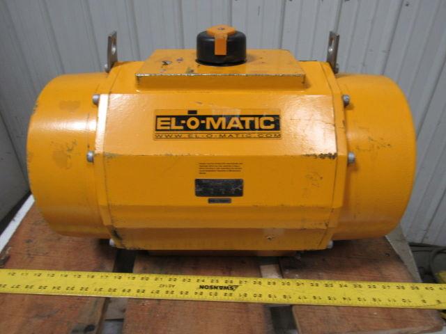 EL-O-Matic ES2500 UOA12A F46K30 Pneumatic Valve Actuator 11 8