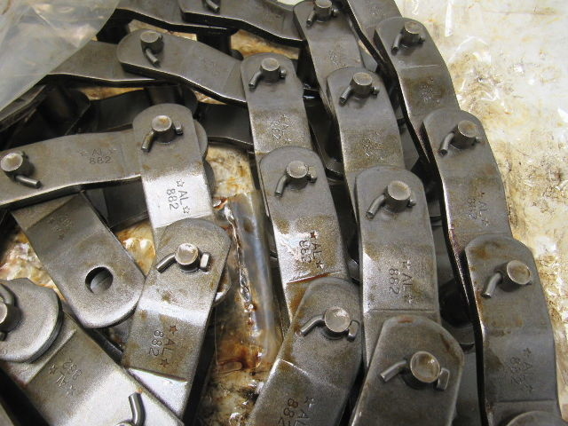 """APPROX LENGTH 10FT 2.609/"""" PITCH REXNORD NH 78 PLASTIC NON-METALLIC DRIVE CHAIN"""