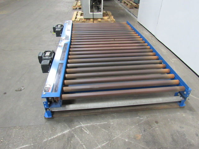 62 Quot Powered Roller Pallet Box Conveyor 46 Quot Inside Width 88