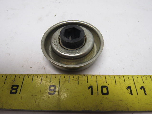 Details about Zinc-Plated Steel Ball Bearing for Conveyor Roller Fits 1 9