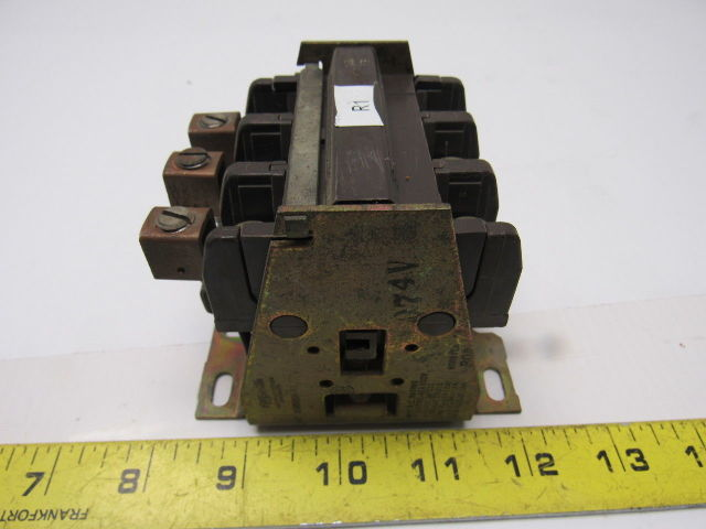 Westinghouse AN43P Model J Thermal Overload Relay 600VAC 3 Pole NEW