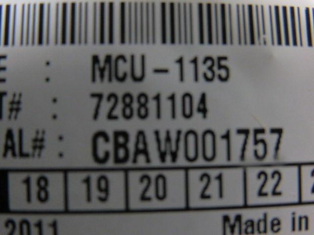 Details about NAUTILUS HYOSUNG 72881104 MCU-1135 Card reader W/ Bezel Lot/3  ATM Parts