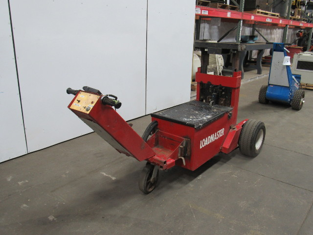 Electric Trailer Dolly >> Loadmaster Power Electric Trailer Dolly Mover Tugger Fifth Fw 5th Wheel Bumper