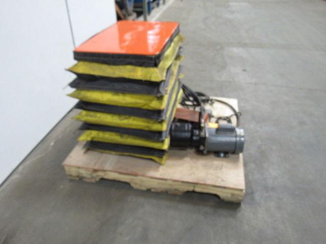 Bishamon 500 Lb Lift Table 32 U0026quot X19 2 U0026quot  Top Ht  Range 6 U0026quot