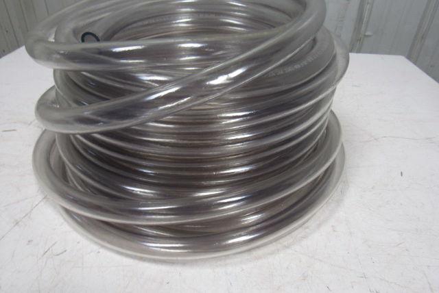 "Kuri Tec K010-1216X100 73 Clear PVC Tubing//Hose 3//4/"" x100/'"