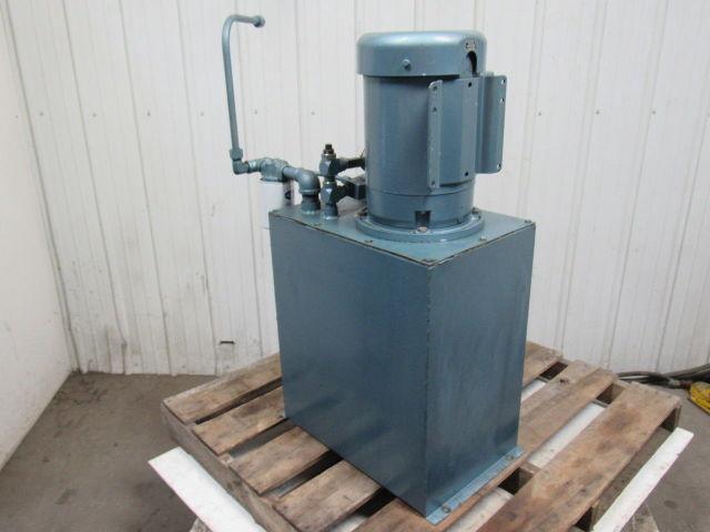 Replacement Air Compressor Pump >> Delta Power Hydraulic Pump Tank Assembly W/7.5HP 1770RPM 208-230/460V 3PH Motor   Bullseye ...