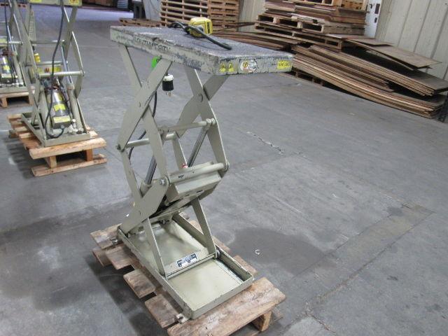 Details about Southworth LS05-30 500LB Cap  Hydraulic Scissor Lift Table  12x24
