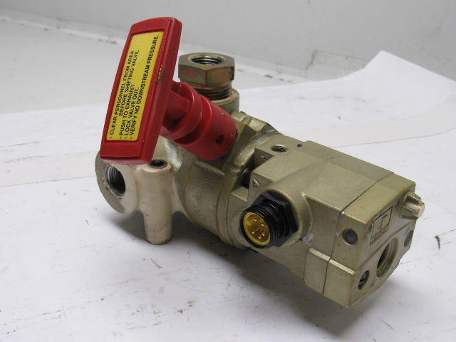 Ross 1 2 Quot Npt Lock Out Exhaust Pneumatic Solenoid Dump