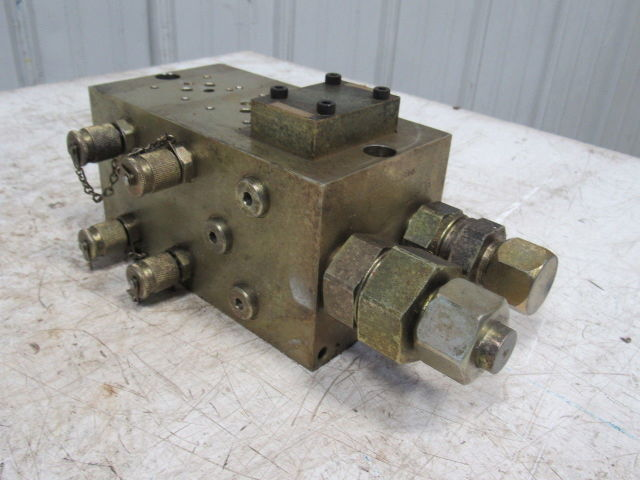 Used Welders For Sale >> GD03PT3.12B8BS 3 Station Compact Hydraulic Valve Block ...