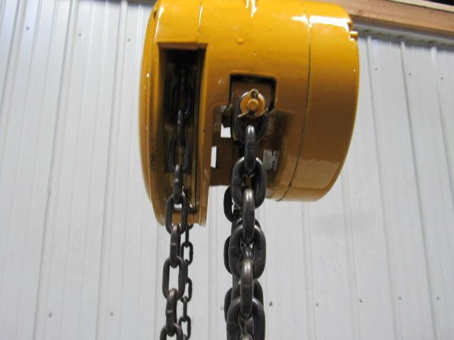 Yale Eaton 5 Ton Manual Chain Fall Hoist 7 9 Quot Lift W Load