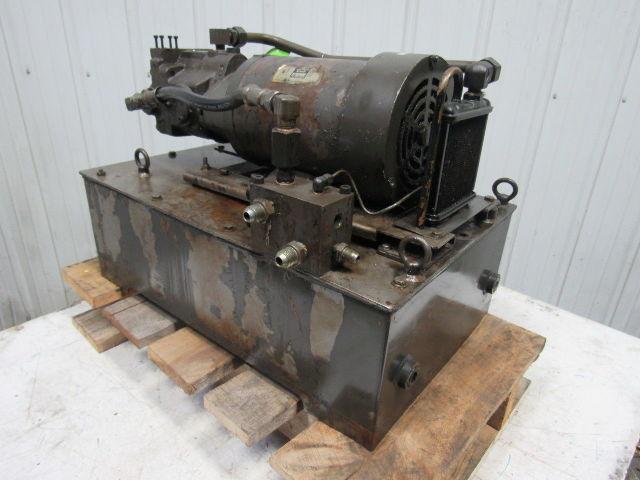 Daikin T 487020a 20 Gal Hydraulic Power Unit Tank 200 220v