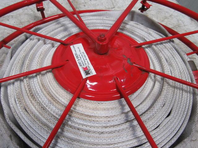 Used Welders For Sale >> Wirt & Knox Swing Type Large Fire Hose Storage Reel W/75 ...