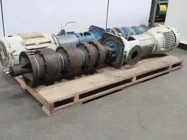 Gould Vit Ct 15 Hp Vertical 2 Stage Turbine Pump 300gpm