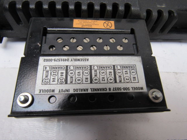 Used Texas Instruments 500-5037-A 8 CHAN ANALOG IN MODULE