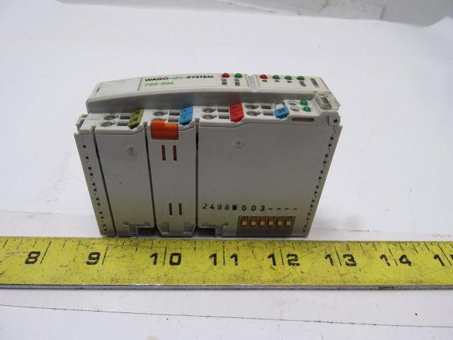 WAGO-I//O-System 750-304 Interbus-Koppler Used