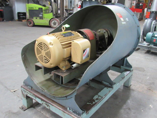Details about Spencer Turbine Co  36202B4 30Hp Centrifugal Blower Fan  230/460V 3Ph 2000CFM