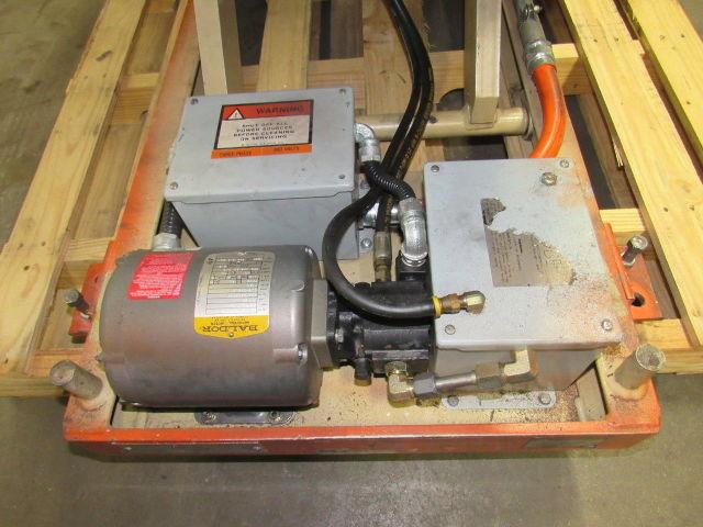 Globe Aa2 48 Sp 1000lb Scissor Lift Table Roller Top 24 Quot X