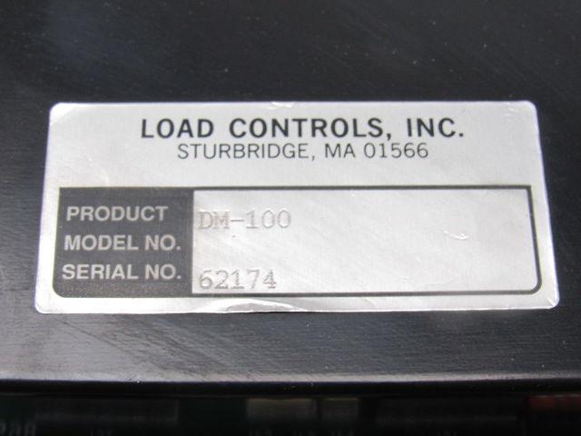 DM-100 LOAD METER LOAD CONTROLS INC