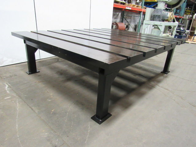 2 1 2 Quot Thick Heavy Duty Steel Welding Layout Work Table