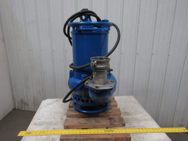 Tsurumi Gpn3 100 Agitator Dewatering Submersible Pump 5 1
