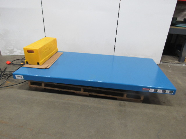 Vestil 6000 Lb Lift Table Scissor Lift 96 Quot X48 Quot Top 7 1 2
