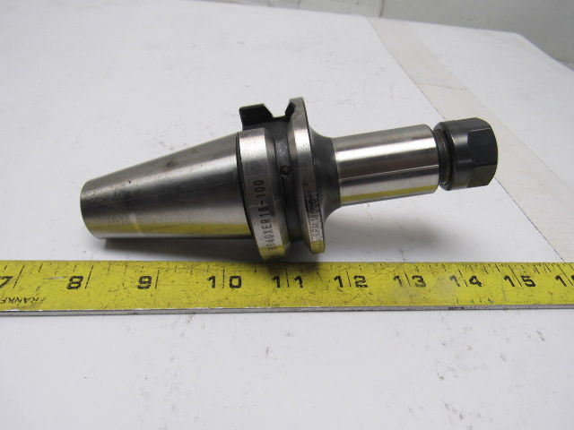 Techniks SYIC-16153-N BT40xER16-100 18000RPM CNC Tool Holder Collet Chuck