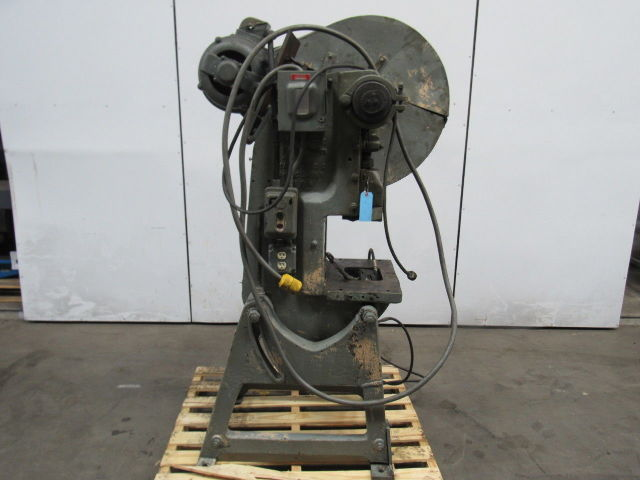 Press Rite No  2 Mechanical 20 Ton OBI Punch Press 2-1/2