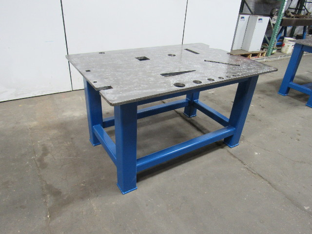 Remarkable Details About H D 3 4 Thick Top Steel Fabrication Layout Welding Table Work Bench 60 X 39 Andrewgaddart Wooden Chair Designs For Living Room Andrewgaddartcom