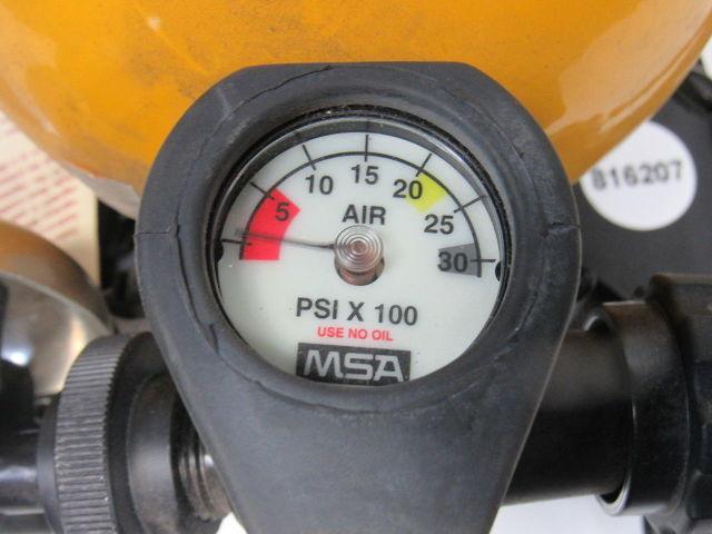 Details about MSA 5-978-1 Mine Safety Respirator Oxygen SCBA Bottle &  Harness 3000 PSI