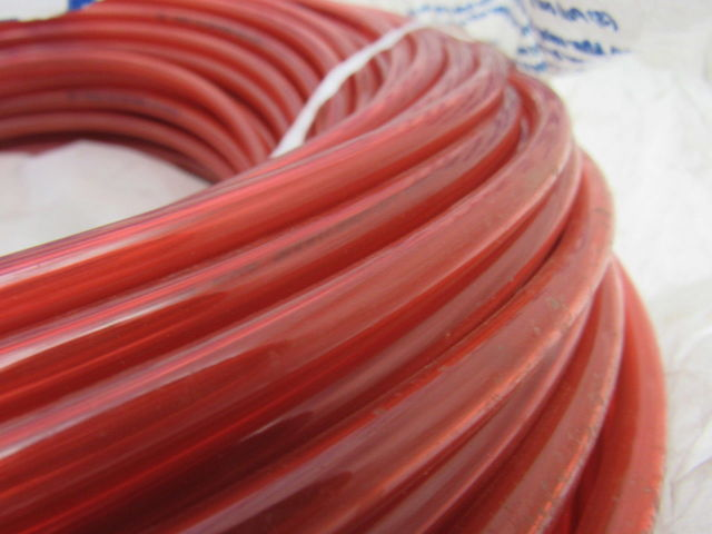 Smc Tu0805 8mm Od Red Poly Tubing 500 Roll Bullseye