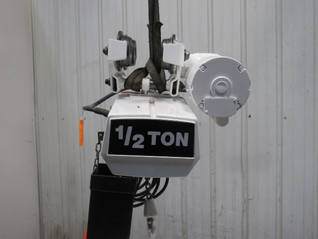 Coffing Ec1016 1 1 2 Ton Electric Chain Hoist 115v 16