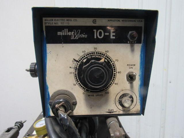 Used Mig Welders For Sale >> Miller CP-200 200A Welding Power Source W/Millermatic 10-E Wire Feed Mig Welder | Bullseye ...