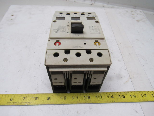 Moeller Nzm7 63s Na 600v 150a Circuit Breaker Disconnect Switch
