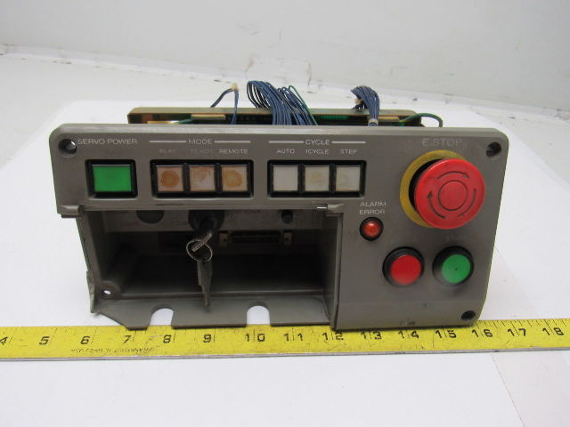 # JZNC-MPB02E w// JANCD-MSP02 Yaskawa Operator Panel Warranty Used