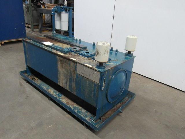 100 GALLON Hydraulic Tank Accumulator Reservoir W/Ports Sight Glass &  Filters